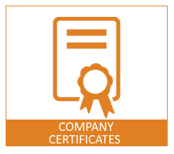 Company certificates Downloads