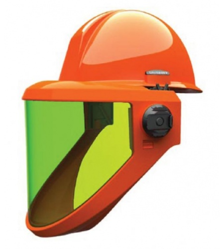 Hard Hat with 12cal Fixed Face Visor
