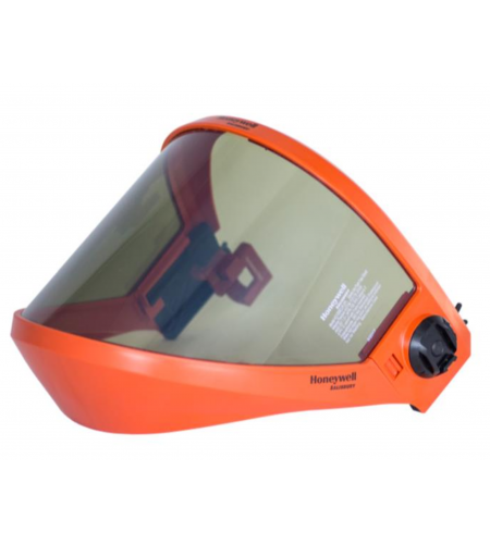 Hard Hat with 12cal Fixed Face Grey PrismShield Visor